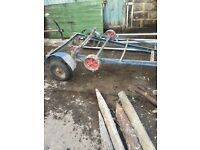 Small sailing boat trailer for sale