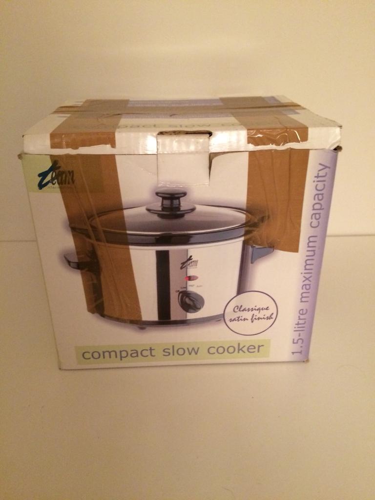 Compact Slow Cooker 1.5 litre