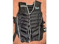 """Men's Health"" weight training vests x2"