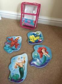 Disney princess bath puzzles