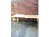 Pasting table £8