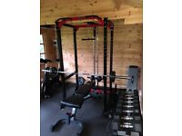 Body Max Power Rack and Bench