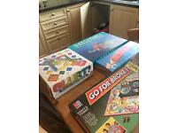 4 board games toys