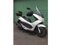 2011 Honda PCX 125cc White