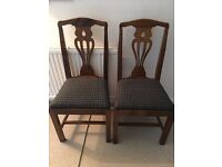 8 X Dining Chairs - excellent condition