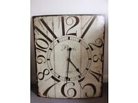 Lovely large clock. Square. Has Paris 1886 written on face