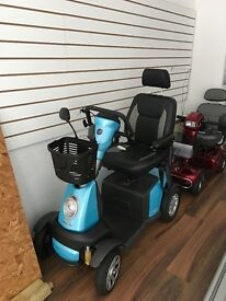 Beautiful Demo mobility Scooter for sale 4mph to 8mph
