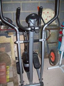 V-fit 2 in 1 cycle/cross trainer -MCCT1