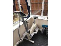 Reebok Edge Cross Trainer and Bike. Excellent condition with manual. No longer used.