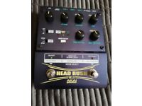 AKAI Head Rush Delay/looper pedal in excellent condition.