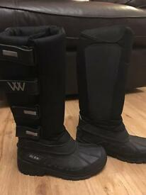 WW fleece lined stable boots / horse riding