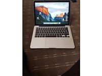 "Apple MacBook Pro Retina 2015 13"" 2.7GHz i5 128GB FLASH(used) great condition,Mac & charger only"