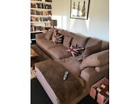Corner sofa (right hand) for Sale