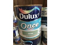 Dulux once paint for wood and metal
