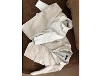 Boys autograph 3 piece linen cream suit 2-3