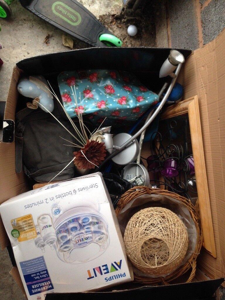 Car boot/toy bundle