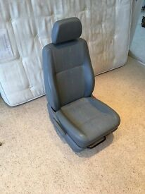 For sale is a VW T5 Drivers Seat. Has had seat covers on since I owned it. Very good condition.