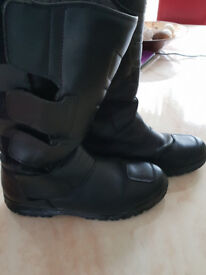 Altberg Waterproof Motorcycle boots size 12