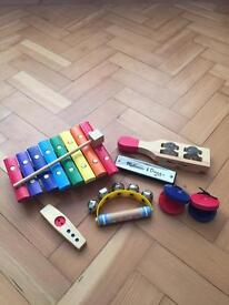 Melissa and Doug musical instruments