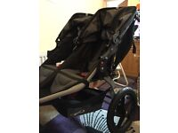 New Bob revolution double pushchair
