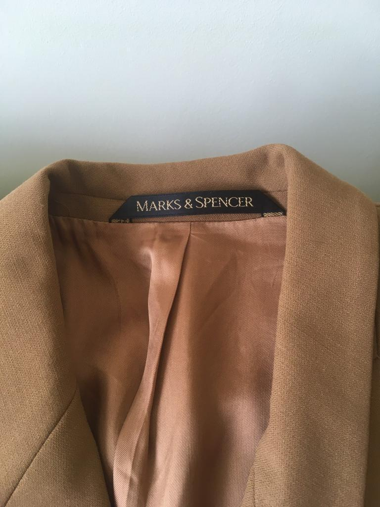 Marks and Spencer's pure New Wool jacket