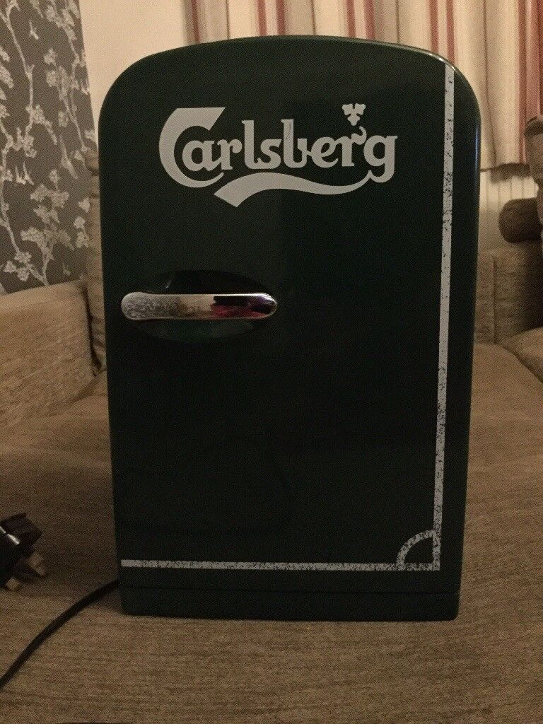 Green Carlsberg Mini Fridge
