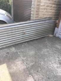 """Galvanised sheets 12ft x 2ft2"""""""