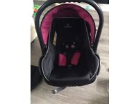 Pink Venicci travel system rarely used!