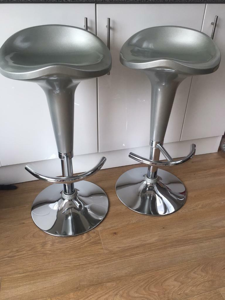 Cool Pair Bar Stools In Portslade East Sussex Gumtree Lamtechconsult Wood Chair Design Ideas Lamtechconsultcom