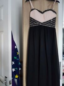 New black long maxi dress