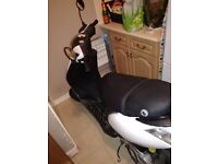Piaggio zip 50 2T with 70kitt