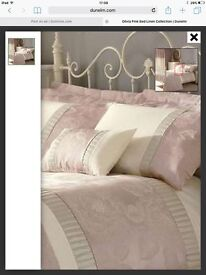 Dunelm single Olivia bedding