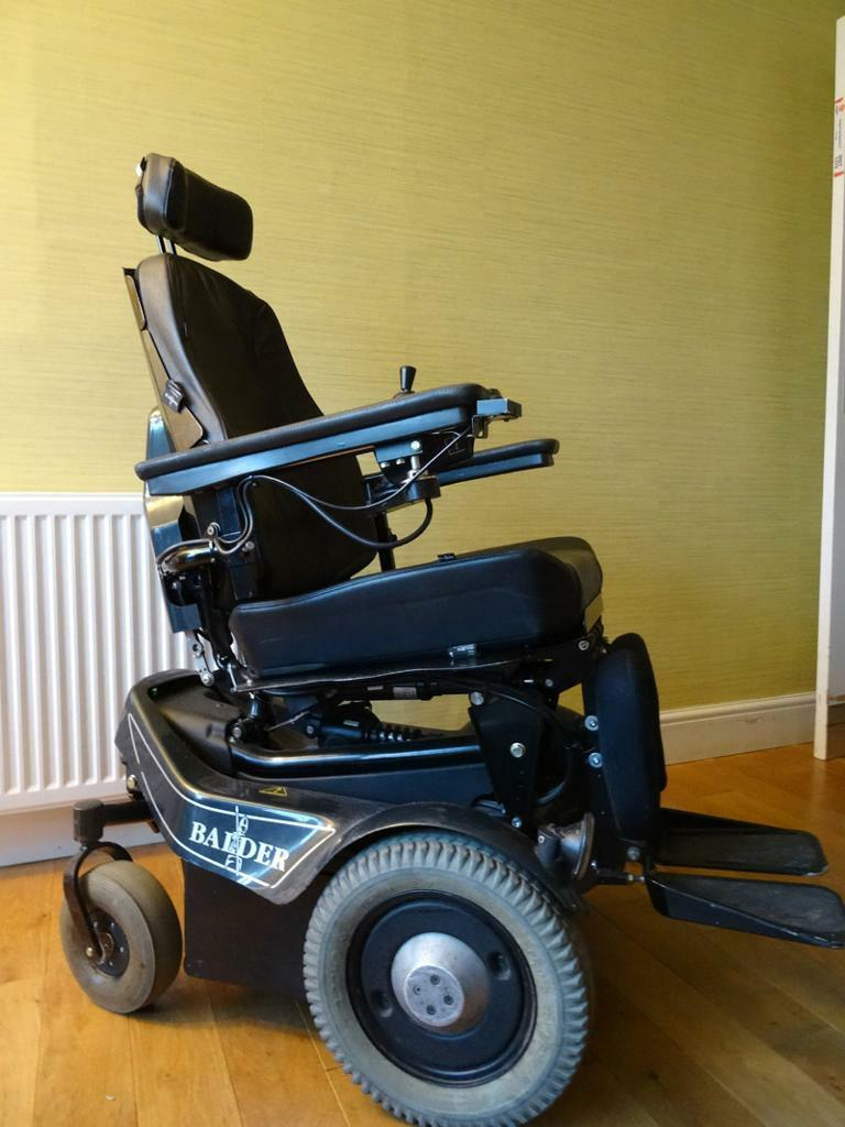 Balder finesse f280 electric powered wheelchair in for Motorized wheelchair for sale