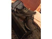 Black SIZE 7 LUKE shoes FREE P&P