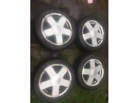ford fiesta mk 6 alloys,15 inch,£80,no offers