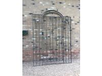 Metal Arched Gate