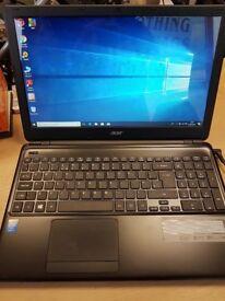 Laptop Acer Aspire E-1. good condition
