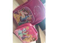 Girls travel & lunch bag
