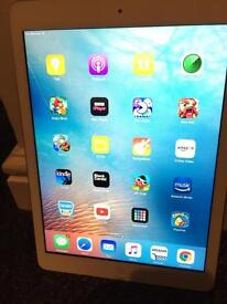 White iPad Air 32gb cellular and wifi for sale