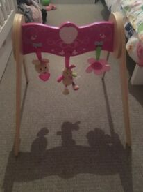 Wooden Play Baby Gym