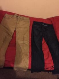 2 pair Armani jeans for sale