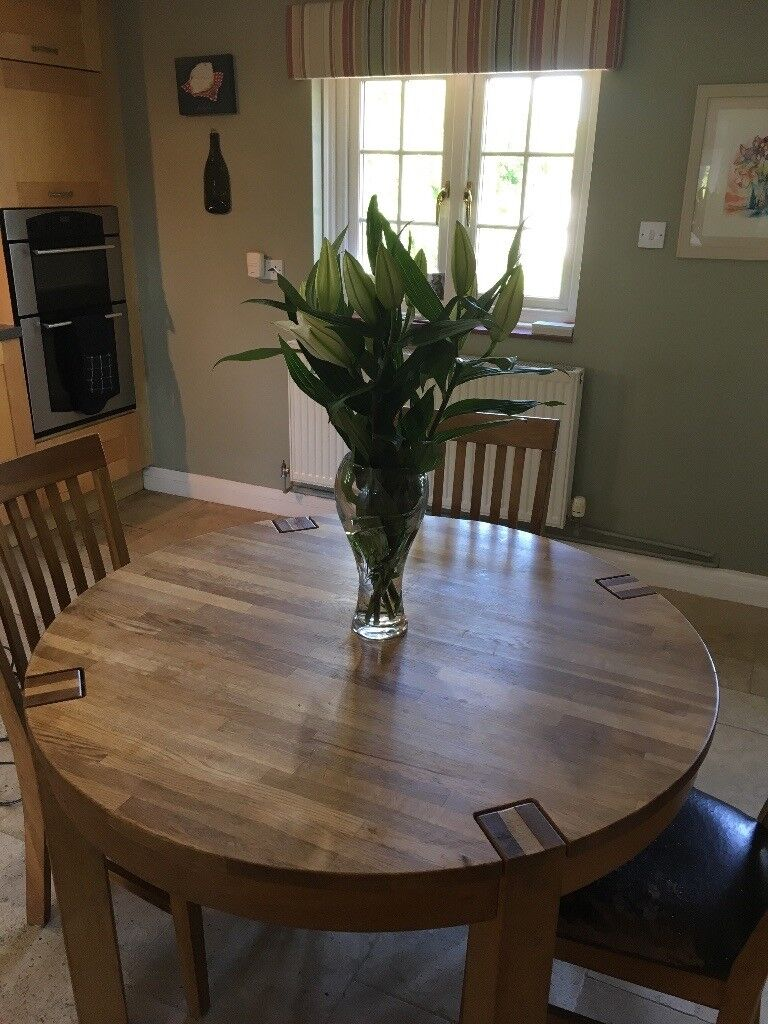 Kitchen table 4 chairs John Lewis Reduced Price quick sale ...