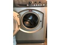 Hot point washing machine 6kg silver