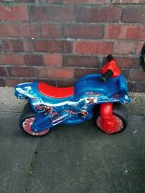 Spider man bike