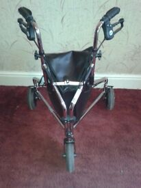 One of two Aluminium Tri Wheel Walkers available - Marston Green