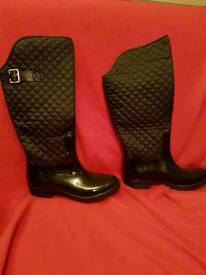Sainsbury Tu quilted wellies size 5