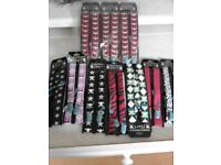36 PAIRS OF BRACES / SUSPENDERS - UNISEX - BRAND NEW - WHOLESALE / JOB LOT