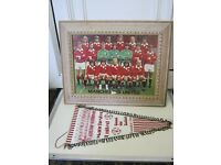 Manchester United Football Collectibles - Picture & Pennant