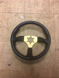 Kode Half Dish Steering Wheel