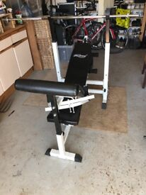 Physionics Gym Bench and Weights